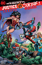 Justice League vs Suicide Squad 1 HARLEY QUINN WONDER WOMAN SEARS POWER GIRL