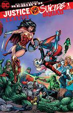 Justice League vs Suicide Squad 1 BART SEARS HARLEY QUINN WONDER WOMAN LTD 3000