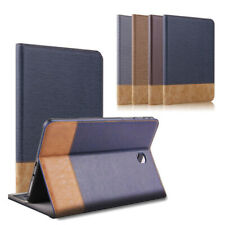 "For Samsung Galaxy Tab E 9.6"" / Tab E 8.0"" Folio Flip Stand Leather Case Cover"