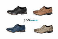 Mens Brogue Leather Lined Formal Lace Up Office Shoes Size 6 7 8 9 10 11 JAS