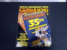 VINTAGE SEPT 1993 GUNS & AMMO MAGAZINE  35TH ANNIVERSARY EDITION *G-COND*