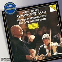 Wiener Philharmoniker Herbert Karajan - Bruckner: Symphony No.8 (NEW CD)