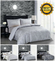 Luxury Bedding Duvet Set + 2 Pillowcases Single Double King Size Quilts Cover UK