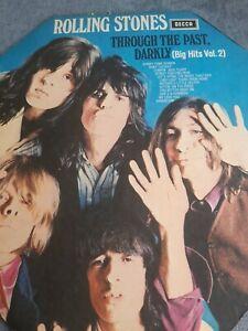 The Rolling Stones - Through The Past Darkly Decca 1970  Vinyl LP SKL5019 EX/EX