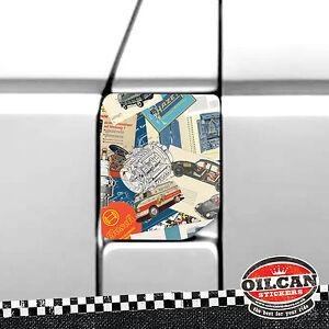 transporter T4 fuel flap wrap vintage adverts stickerbomb oilcan original