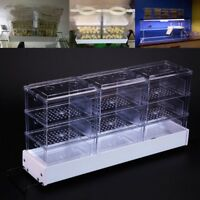 Aquarium External Rain Trickle Drop Upper Boxes Fish Tank Filter Water System