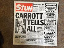 "Original 1983 THE STUN by JASPER CARROTT Vinyl 12"" LP Record"