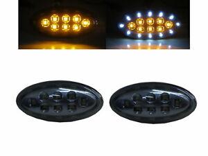 Mazda2/Demio DE MK3 11-13 3D/4D/5D Dual LED Side Marker Light Smoke for MAZDA