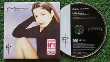 PILAR MONTENEGRO **Quitame Ese Hombre** Remixes 2002 RARE PROMO CD Single Spain