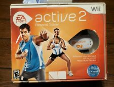 NINTENDO WII EA Sports Active 2 Personal Trainer Game With Manual