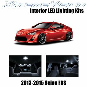 XtremeVision Interior LED for Scion FR-S FRS 2013-2015 (10 PCS) Pure White