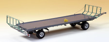 WIKING 1:32 SCALE OEHLER ZDK 120 B TWO AXLE FLAT BED TRAILER