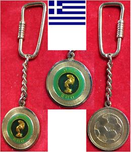 Fussball Football Schlüsselanhänger Keyholder HELLAS GREECE GRIECHENLAND GFF EPO