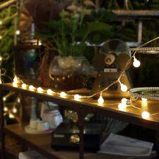Innoo Tech Indoor Fairy Lights Globe String Festoon Party Lighting Warm White