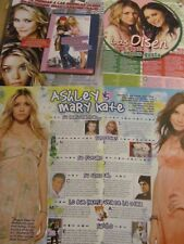 Mary-Kate and Ashley Olsen, Lot of THREE Clippings, Foreign Magazine, Twins
