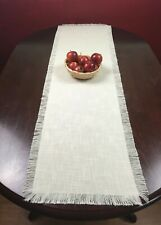 Woven Table Runner Linen Accessory Dining-Varies sizes available L:39.5-118 Inch