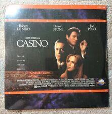 Casino Laserdisc 1996 Martin Scorsese Robert De Niro Sharon Stone Joe Pesci