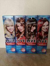 Schwarzkopf Women's Red Semi-Permanent Hair Colourants