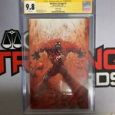 Absolute Carnage #4 CGC 9.8 Signed By Todd Mcfarlane 1:100 Virgin Edition 🔥🔥🔥