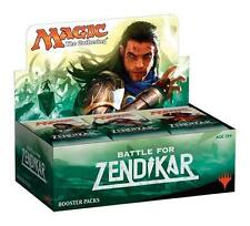 BATTLE FOR ZENDIKAR English Booster Box Factory Sealed MTG Magic the Gathering