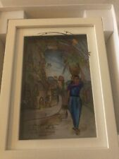 Jean Pierre Weill Vitreography 3D Painting On Glass Framed Original Box RUTH