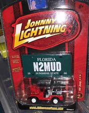Johnny Lightning Working Class R6 '66 JEEP CJ-5 #1 1/64 Florida M2MUD 2006