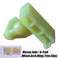 20x FRONT REAR WHEEL ARCH WING BUMPER SURROUND TRIM CLIPS FOR NISSAN JUKE XTRAIL