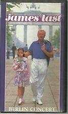 JAMES LAST BERLIN CONCERT LIVE IN EAST BERLIN PALAST DER REPUBLIK 1987 PAL VHS