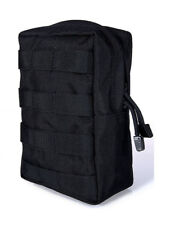 Flyye Tactical Vertical Accessories Pouch Utility Pocket MOLLE System Black