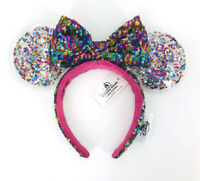 Rainbow Star Disney Parks Confetti Shanghai 2020 Minnie Ears Sparkle Headband