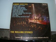 THE ROLLING STONES - GIMME SHELTER   LP