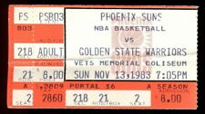 Ticket Basketball Indiana Pacers 1983 1/21 Phoenix Suns