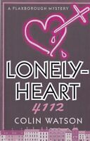 LONELY-HEART 4112 by COLIN WATSON (PAPERBACK) BOOK 9781788420877
