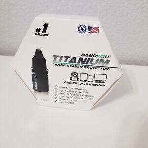 NanoFixIt Titanium BEST Invisible Liquid Screen Fits All Devices - Anti-Scratch