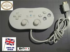 Wii Classic Controller White for Nintendo Wii & Wii U – Official / Genuine