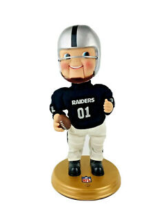 LA Oakland Raiders NFL Gemmy Rockin Dancing Doll Vintage Monday Night Football