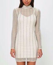 Missguided Mock Neck Dresses Bodycon Dress