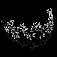 Crystal Headbands Wedding tiaras Crowns Bridal Hair Jewelry Hair Accessories K J