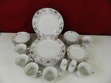 32 Piece Sone Fine Porcelain China of Japan Claremont Dinnerware Set