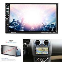 """7 """"Touchscreen 2Din Auto HD MP5 Spieler GPS Navigation Bluetooth FM Sender 12V"""