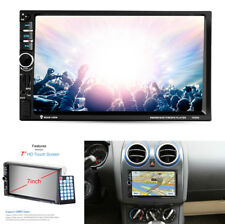 "7 ""Touchscreen 2Din Auto HD MP5 Spieler GPS Navigation Bluetooth FM Sender 12V"