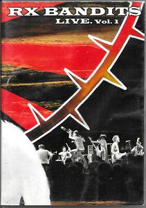 RX BANDITS: LIVE. Vol.1 (UK DVD)  War Is Worthless,  2004 Ska Punk - VGC.