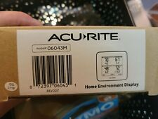 AcuRite 06043M Wireless Multi-Zone Weather Station * Sensor NOT included *