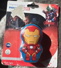 Philips Disney Marvel Iron Man LED Night Light Book Reading Flash Light Torch