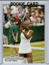 """RARE"" SERENA WILLIAMS 2003 NETPRO ROOKIE CARD #100! 39 GRAND SLAM TITLES!"