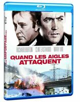 Blu Ray : Quand les aigles attaquent - Clint Eastwood - GUERRE - NEUF