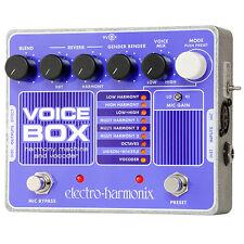 Electro-Harmonix Voice Box Harmony Machine Vocoder Vocal Effect Pedal +Picks