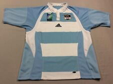 UAR ARGENTINA RUGBY UNION 2007 WORLD CUP ADIDAS CLIMACOOL JERSEY MENS MEDIUM