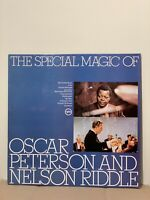 """The Special Magic Of Oscar Peterson And Nelson Riddle Vinyl LP 12"""" 1964 (LP286)"""