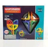 Magformers Creator Set Line Designer Curve Set - 30pc New 3D Brain Training Toy